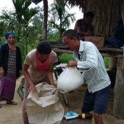 Ration Distribution at Avoipur, Diyun, Changlang, Arunachal Pradesh