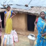 Ration Distribution at Fatehpur, Gaya, Bihar