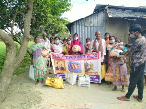 Ration Distribution at Balurghat- West Bengal