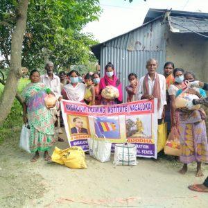 Ration Distribution at Balurghat- West Bengal