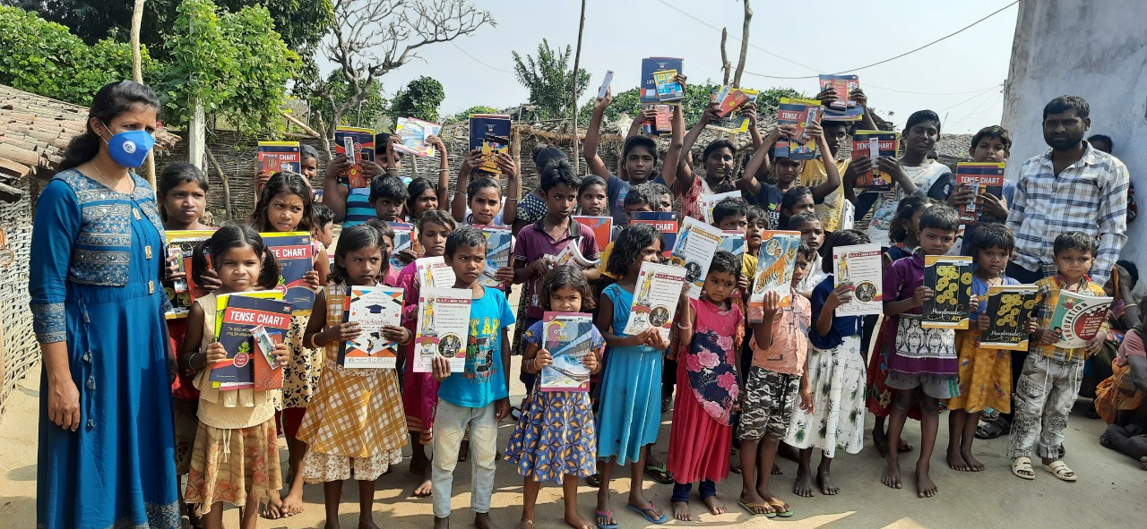 You are currently viewing Blanket and Eucation Kit Distribution at Sagjore Village, Odisha