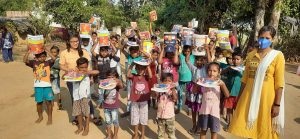 Blankets and Educational Kits Distribution at Kalahandi