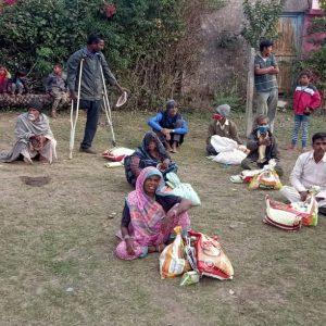 Ration Kit Distribution at Sagar, Madhya Pradesh- Day 3