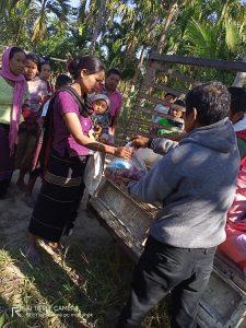 Ration Distribution at Diyun-Arunachal Pradesh