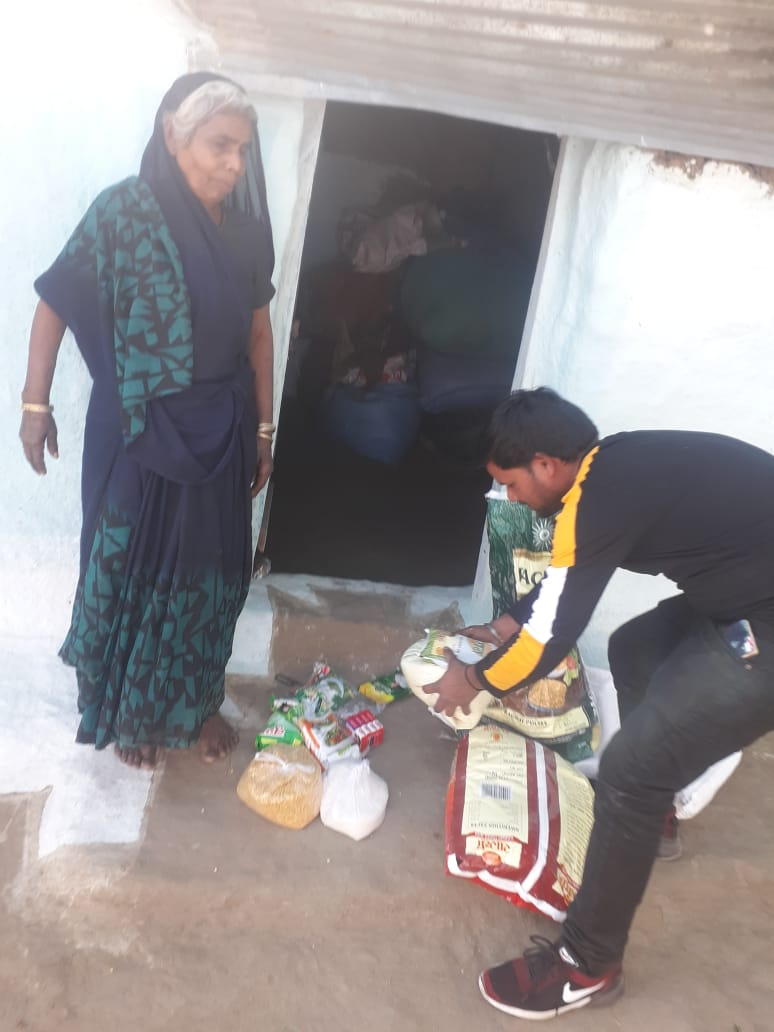 Ration Kit Distribution at Sagar, Madhya Pradesh- Day 2