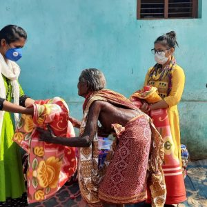 Blanket Distribution at Temra Village-Kalahandi