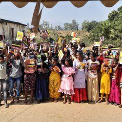 Blanket and Education kit distribution at Rayagada