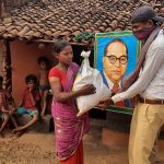 Ration distribution at 5 villages of Rayagada, Orissa