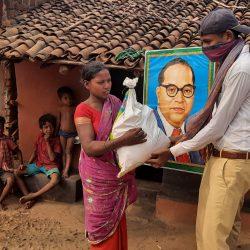 Ration distribution at 5 villages of Rayagada, Orissa