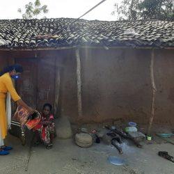 Blanket and Educational kit distribution at Sagarpada, kalahandi, Odisha