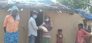 Dry Ration Kit Distribution at Gaya-Bihar