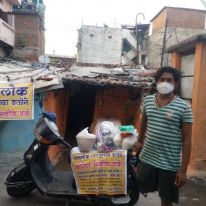 Ration Kit Distribution at Nagpur Slum Areas