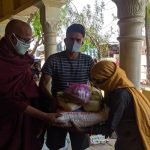 Dry Ration Kit Distribution at Shrinagar, Bharatpur