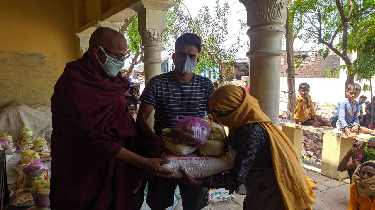 You are currently viewing Dry Ration Kit Distribution at Shrinagar, Bharatpur