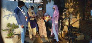 Relief Support at Gokul Nagar, Raipur
