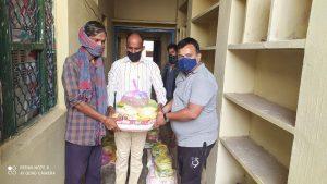 Ration Distribution at Bharatpur-Rajasthan