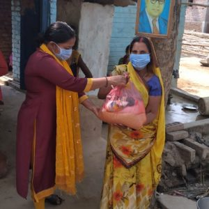 Dry Ration Kit Distribution at Sahvajpur, Gaya-Bihar