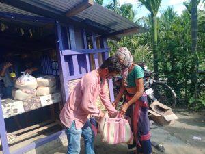 Ration Kit Distribution at Udaipur-Arunachal Pradesh