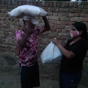 Dry Ration distribution at Pilani- Jhunjhunu District- Rajasthan