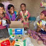 Ration Kit distribution at Amravati