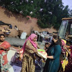 Ration Distribution at Jodhpur