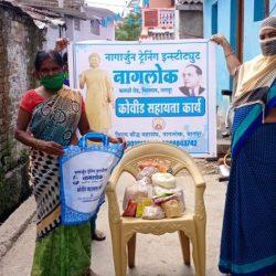 Ration Kit Distribution at Nagpur