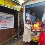 Ration Kit Distribution at Dharavi- Mumbai