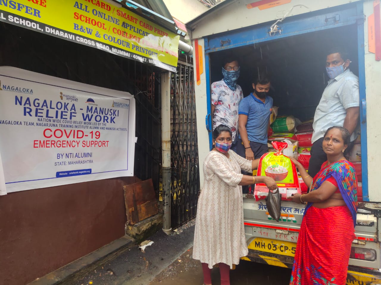You are currently viewing Ration Kit Distribution at Dharavi- Mumbai