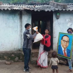 Ration Kit donation to Trible and Scheduled Caste communities of remote villages in Rayagada and Kalahandi District- Odisha