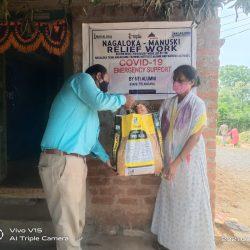 Ration Kit distribution at Nizamabad-Telangana