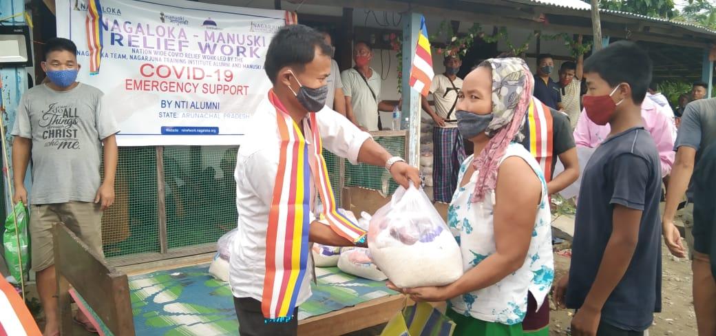 You are currently viewing Ration Kits Distribution at Bijoypu-I , Betcamp and Charali Village, Arunachal Pradesh