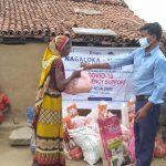 Ration Kit Distribution to daily wagers at Fatehpur- Gaya