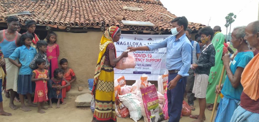 You are currently viewing Ration Kit Distribution to daily wagers at Fatehpur- Gaya