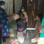 Ration kit distribution at Janjgir Champa – Chhattisgarh