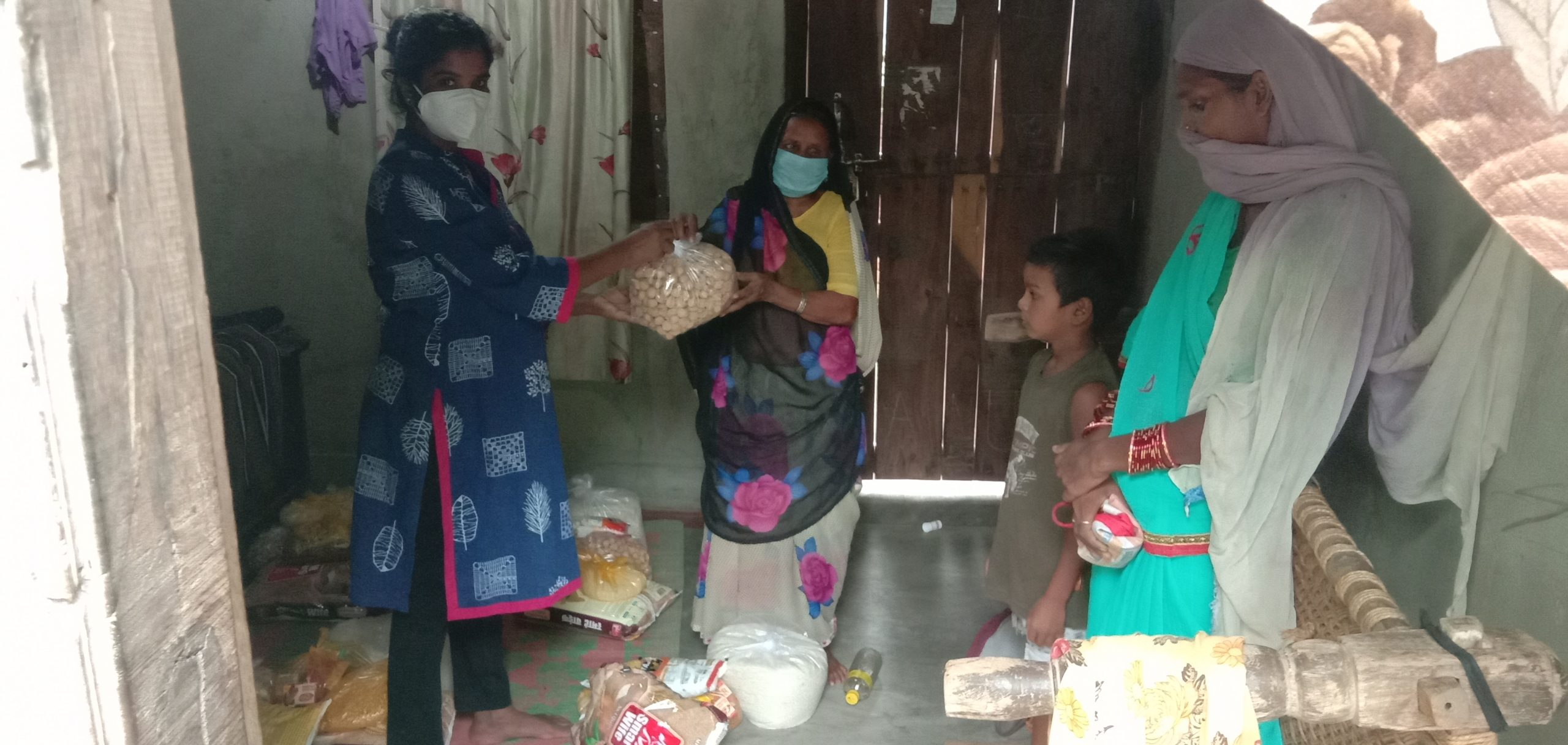 You are currently viewing Ration kit distribution at Janjgir Champa – Chhattisgarh