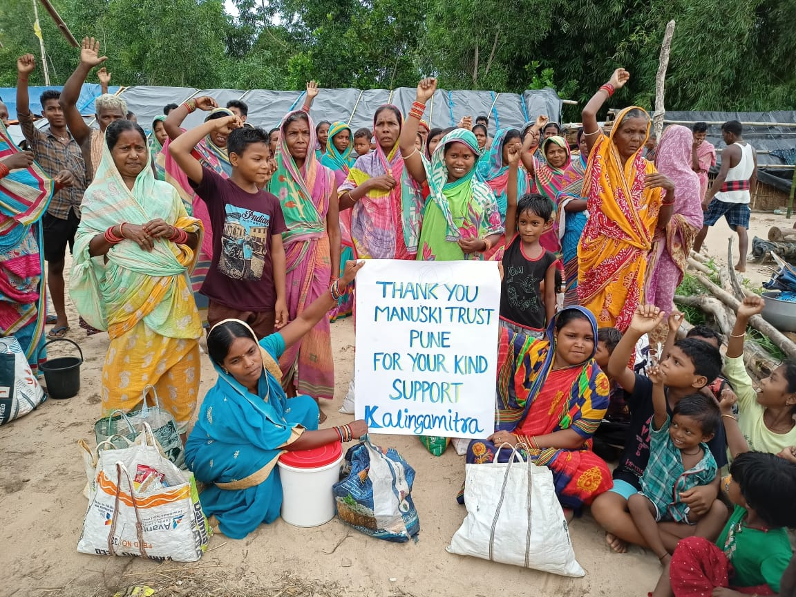 You are currently viewing Ration kit distribution to families facing atrocities at Puri- Odisha