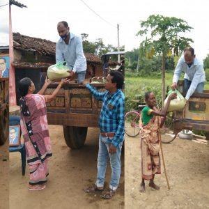 Ration Kit distribution in 8 villages of Bolangir District- Odisha