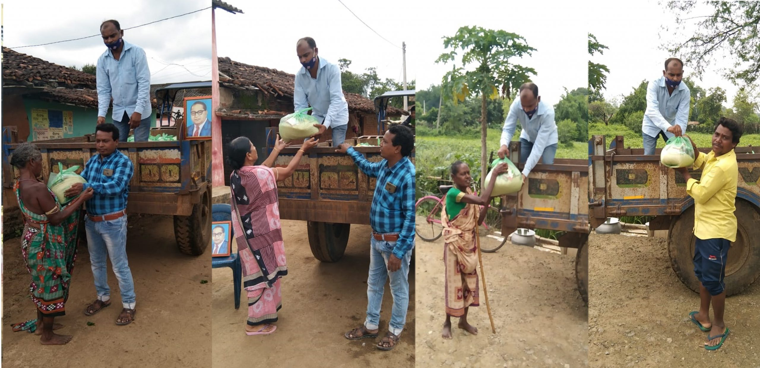 You are currently viewing Ration Kit distribution in 8 villages of Bolangir District- Odisha
