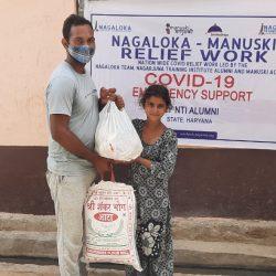 Dry Ration kit Distribution at Rewari- Haryana