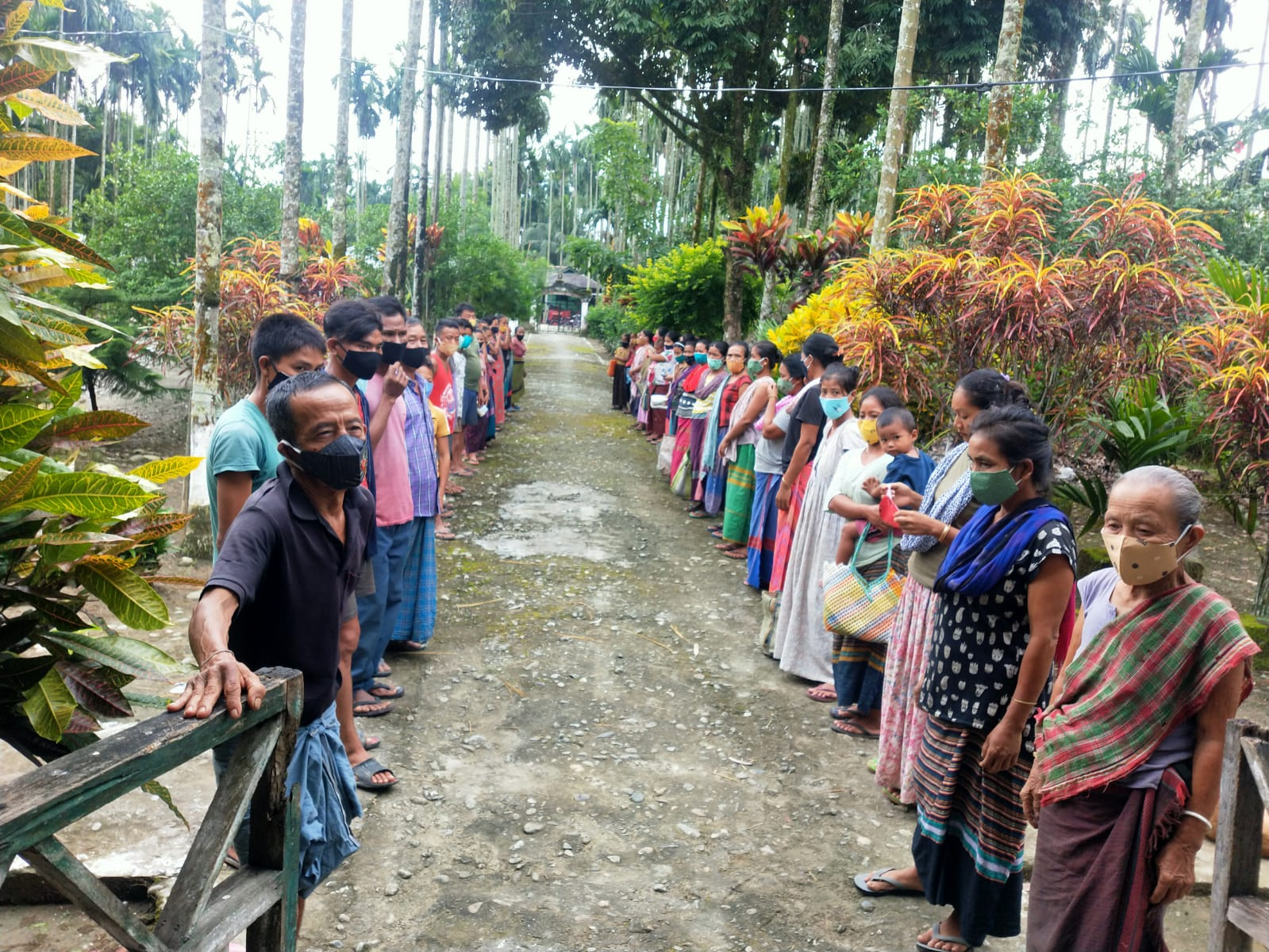You are currently viewing Ration Distribution for daily wagers at Bijoypur – III, Changlang, Arunachal Pradesh
